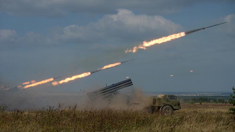 Rusia incorpora el sistema lanzacohetes múltiple Uragán-1M