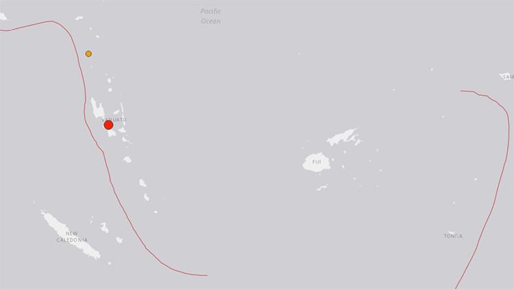 Un sismo de magnitud 6,0 en el sur del Pacífico