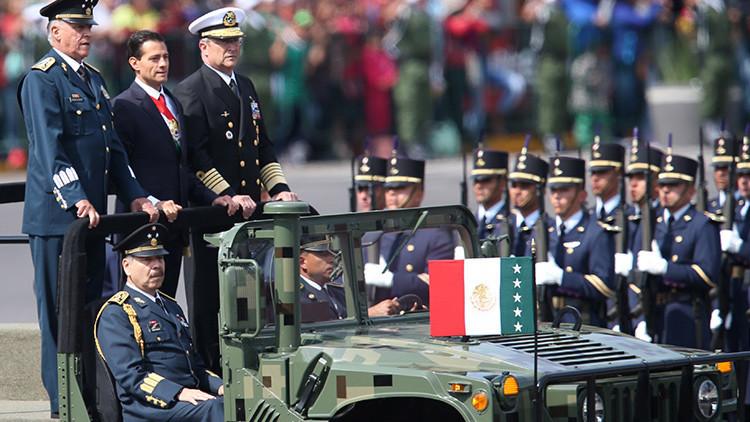 México conmemora el 206 aniversario de la Independencia con un espectacular desfile militar (Video)