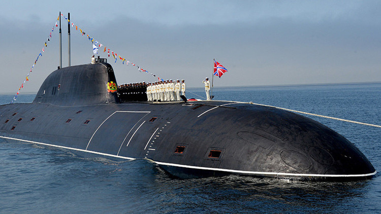 Ensayan un dron de comunicaciones para submarinos nucleares rusos