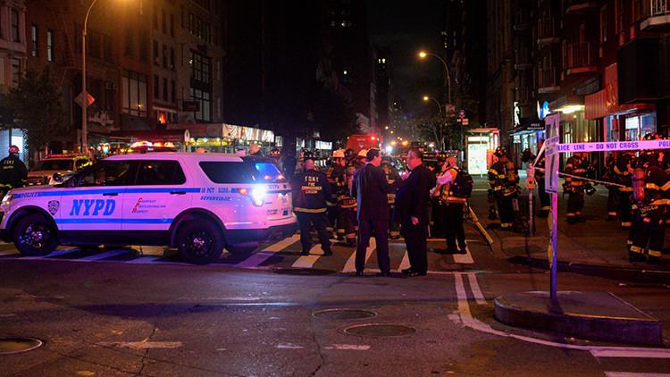 Decenas de heridos tras una fuerte explosión en Manhattan, Nueva York (FOTO, VIDEO)