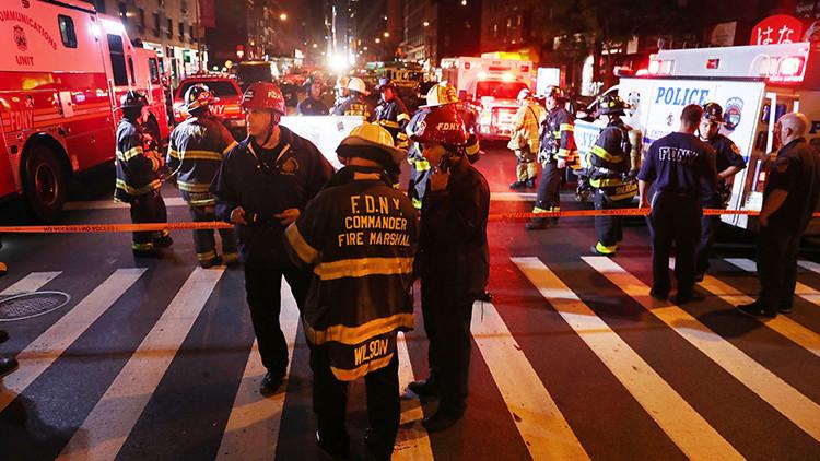 Publican el momento exacto de la explosión en Manhattan (VIDEO)