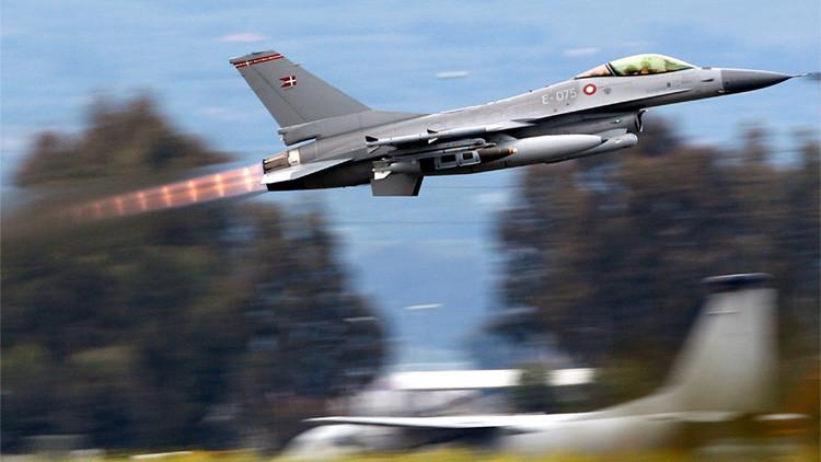 Dos cazas daneses bombardearon al Ejército sirio creyendo que era el Estado Islámico