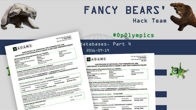 Nueva filtración de 'hackers' sobre dopaje: Rafael Nadal entre los involucrados