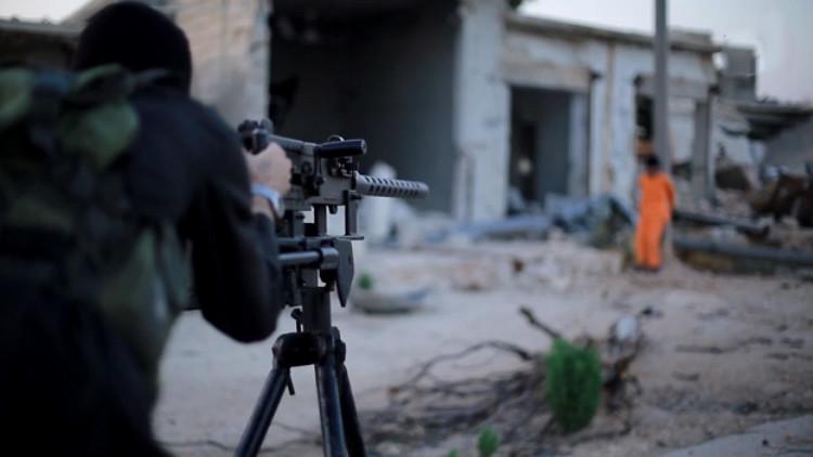 El Estado Islámico publica la ejecución de un supuesto espía (+18)