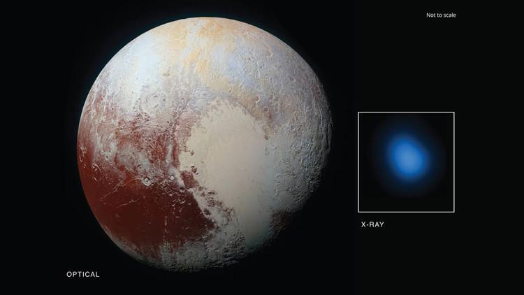 Nuevo misterio: Detectan rayos X procedentes de Plutón