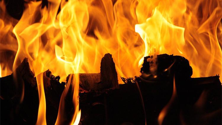 VIDEO: Un escritor arriesga su vida para salvar dos novelas sin publicar de su casa en llamas
