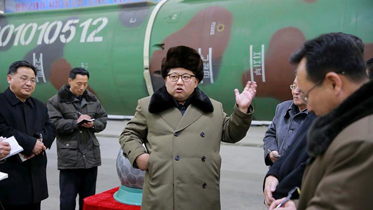 Corea del Norte prueba un nuevo motor de gran capacidad para cohetes de satélites