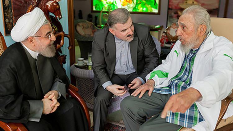 Video: El presidente de Irán se reúne con Fidel y Raúl Castro