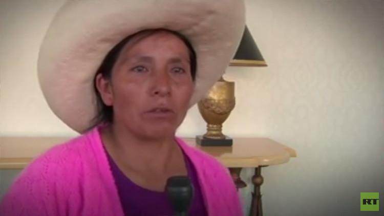 Una empresa minera ataca a Máxima Acuña, la campesina indígena peruana que defiende su tierra