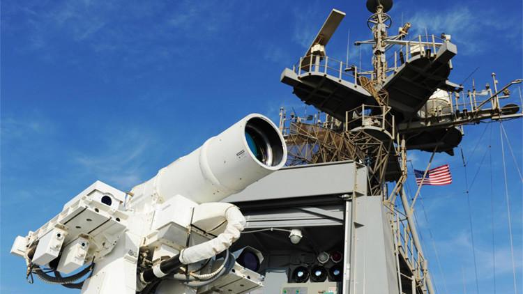 """El nuevo cañón láser del Reino Unido """"transformará la cultura de defensa militar"""""""