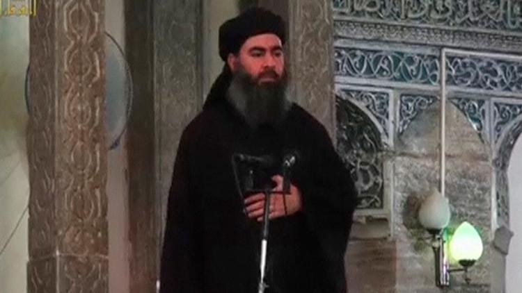 El líder del Estado Islámico Al Baghdadi se deja ver en público en Mosul por primera vez en meses