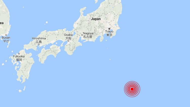 Se registra un sismo de magnitud 6,0 en Japón