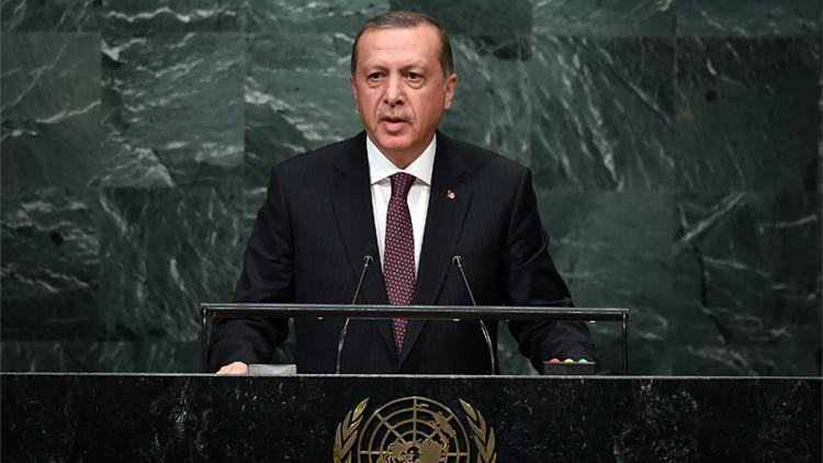 Erdogan ante la ONU: Abrimos la puerta a los refugiados como seres humanos, pero Occidente les falló