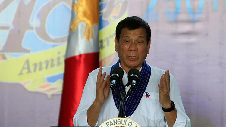 """El presidente filipino a la UE: """"¡Vete al carajo!"""""""