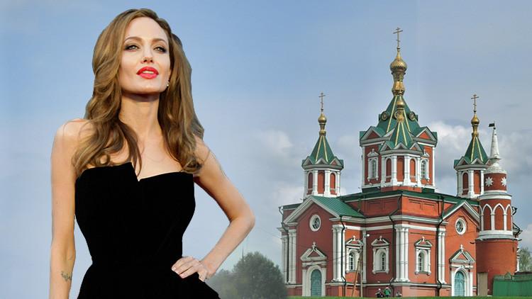 """""""Ese Brad no te merece"""": Un escritor ruso le propone a Angelina Jolie que viva con él en Rusia"""