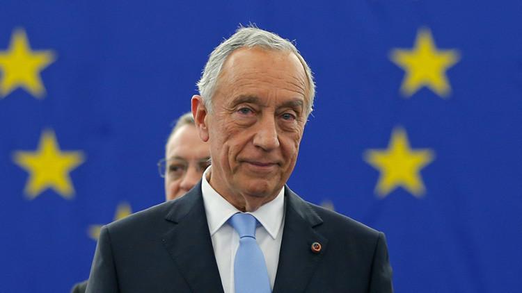 """""""¿A qué delegación pertenece?"""": Entrevistan al presidente de Portugal sin querer (VIDEO)"""