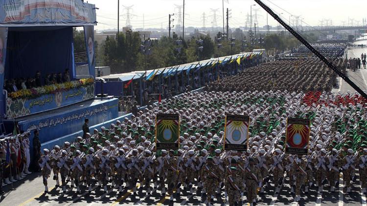 Video: Irán exhibe poderío militar durante su Semana de la Defensa Sagrada