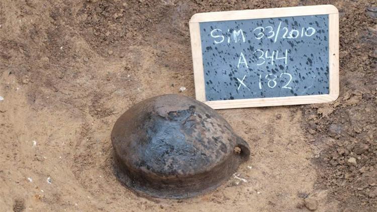 Descubren una olla con queso quemado hace 3.000 años