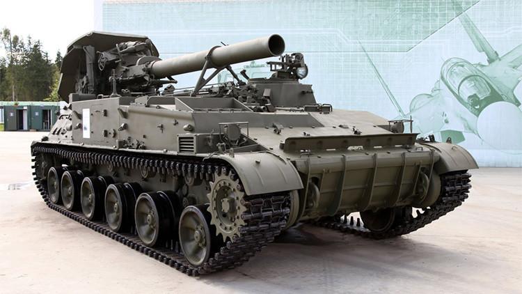 Rusia arma sus tropas en el sur con obuses gigantes y morteros con capacidad nuclear