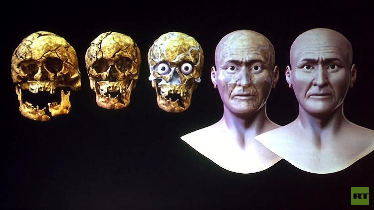 Video: Científicos reconstruyen el rostro del Señor de Sipán