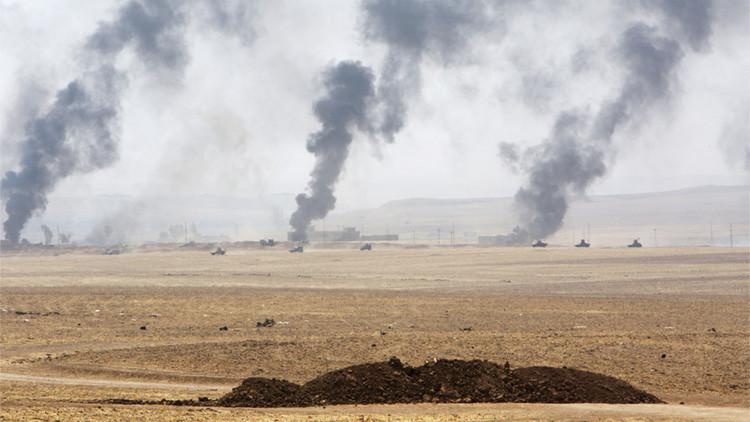 """Pentágono: """"El Estado Islámico atacó con gas mostaza una base de EE.UU. en Irak"""""""