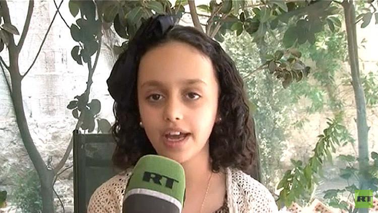 """Niña yemení a RT: """"Si EE.UU. no puede parar la guerra, que deje de vender armas a los saudíes"""""""