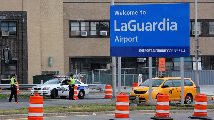 Evacúan el aeropuerto de LaGuardia en Nueva York por un vehículo sospechoso abandonado