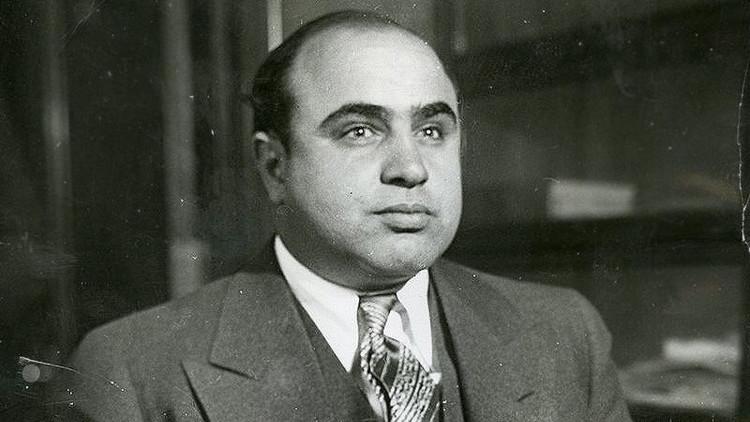 A subasta la cara más tierna del gángster Al Capone