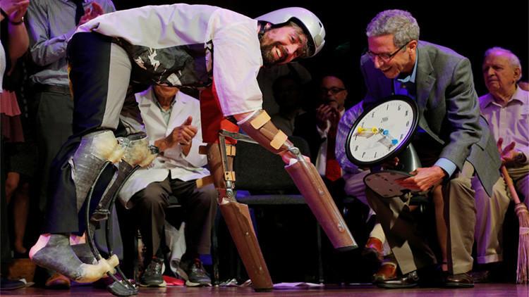 Ratas con pantalones, rocas con carácter y un 'hombre cabra': Estos son los 'Ig Nobel' de este año