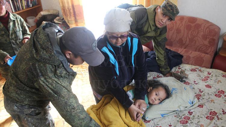 """""""No tuve miedo"""": Un pequeño 'tarzán' ruso sobrevive 3 días en un bosque siberiano"""