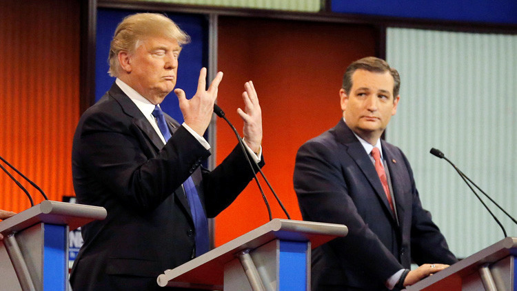 """""""Clinton es totalmente inaceptable"""": Ted Cruz anuncia su apoyo a la candidatura de Donald Trump"""