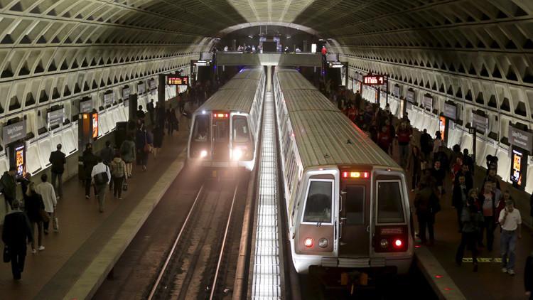 EE.UU.: Evacúan una estación de metro cerca de la Casa Blanca debido a un incendio en las vías