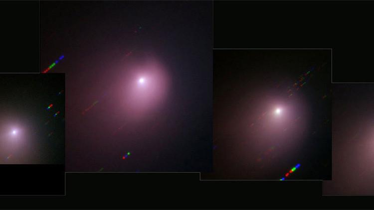 Las imágenes del choque de una sonda contra el cometa Tempel