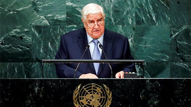 """Siria ante la ONU: """"EE.UU. y sus aliados son cómplices del EI y de otras organizaciones terroristas"""""""