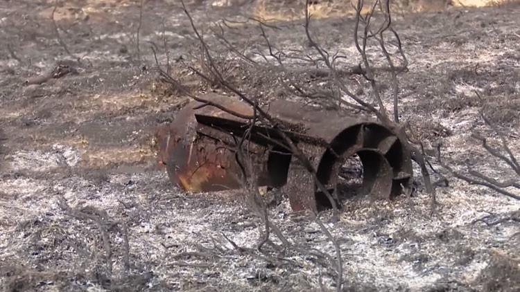 VIDEO: Una vieja bomba soviética desata un incendio forestal descontrolado en Alemania