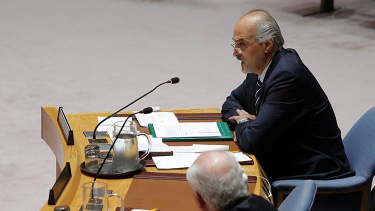 Siria en la ONU: Terroristas preparan un ataque químico para luego culpar al Gobierno