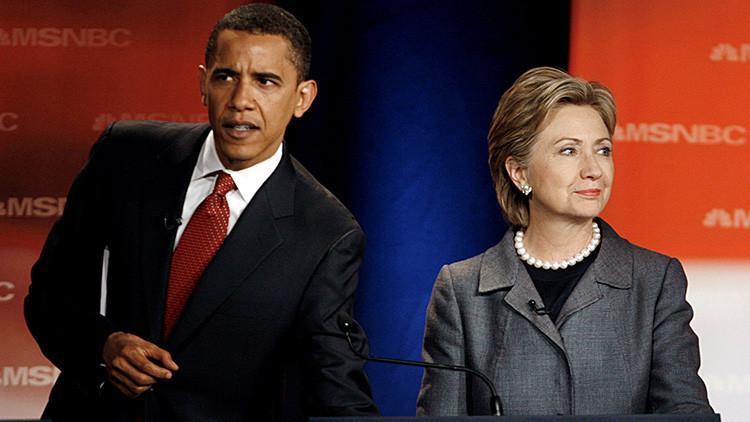 Obama utilizó un seudónimo en la correspondencia con Hillary Clinton