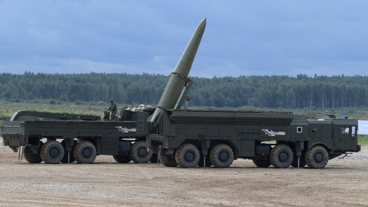 Dos misiles Iskander-M destruyen con éxito sus blancos en el sur de Rusia