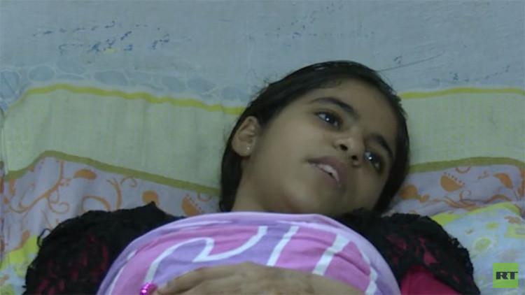"""""""Tengo pesadillas. Me disparan constantemente"""": Una niña palestina relata cómo la tirotearon"""
