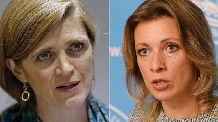 """Zajárova: """"Lo que EE.UU. hizo en Irak y Libia sí que es una verdadera barbarie"""""""