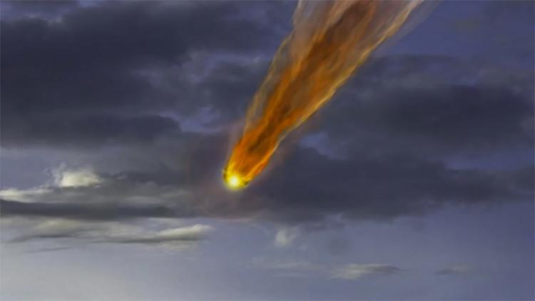 VIDEO: Un gran meteorito cae en la costa de Australia