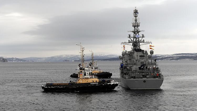 La Flota del Norte rusa lanza exitosamente siete misiles durante sus ejercicios en el Ártico