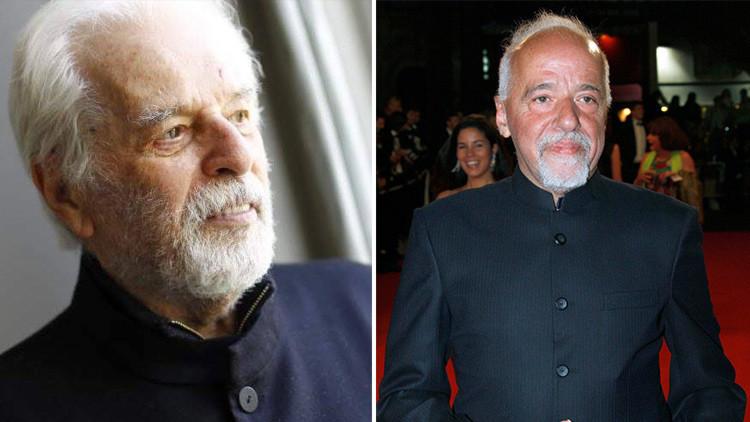 Alejandro Jodorowsky (izquierda; en una imagen de su cuenta en Facebook) y Paulo Coelho (derecha; en una fotografía de Reuters)