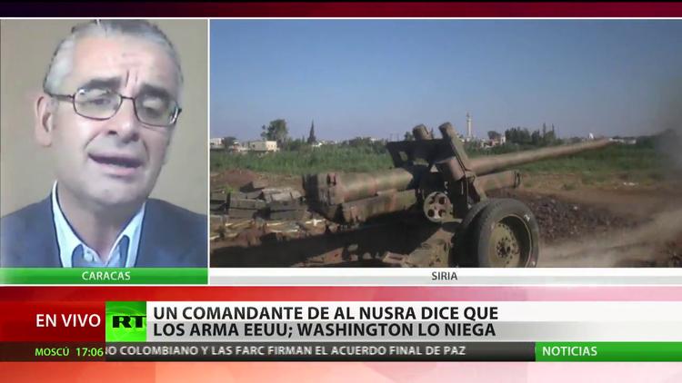 """""""No es una novedad que EE.UU. participe en el armamento de grupos criminales"""""""