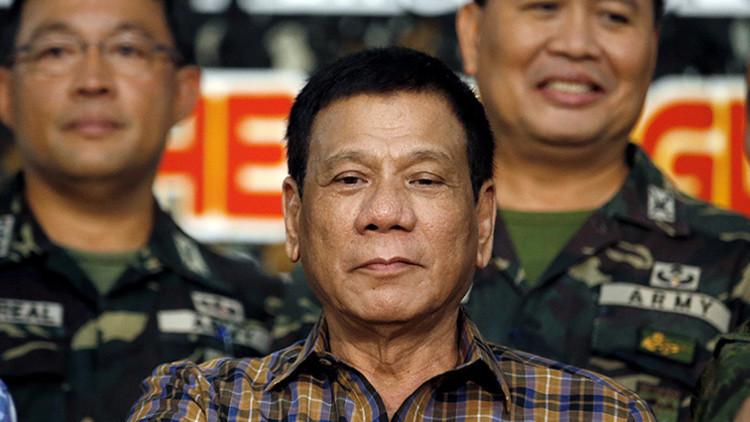 """El presidente filipino quiere """"abrir alianzas"""" con Rusia y China"""