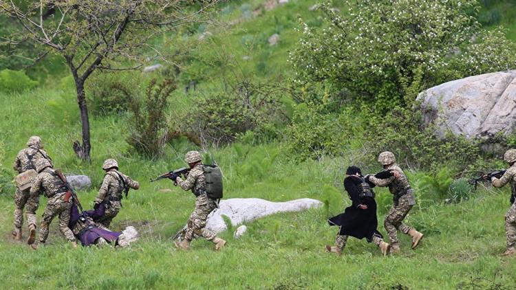Rusia y Pakistán realizan sus primeras maniobras tácticas conjuntas (Video)