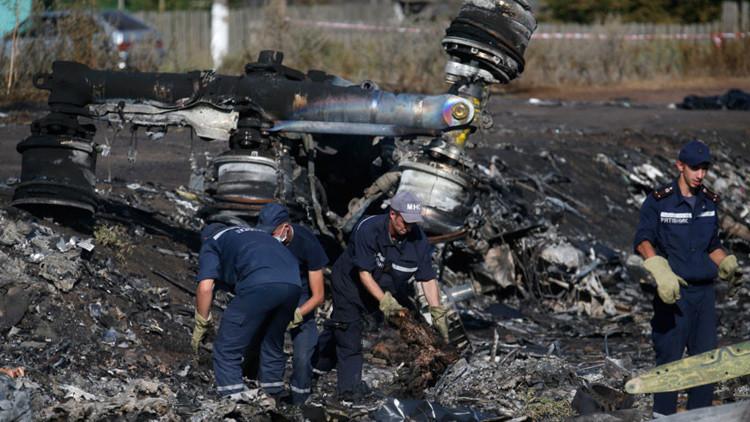 Rusia: Los investigadores del accidente del MH17 se basaron en fuentes de Ucrania e Internet