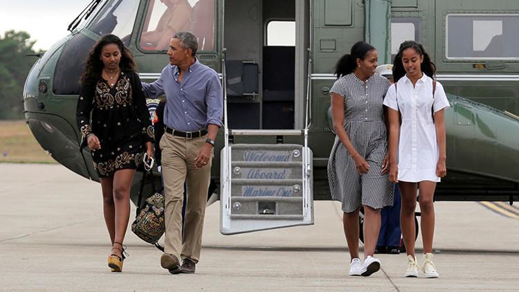 ¿Enviaría Barack Obama a sus hijas al Ejército?