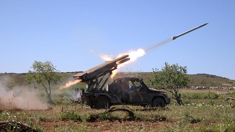 """Rebelde sirio: Hemos recibido """"un buen número"""" de cohetes Grad desde el extranjero"""